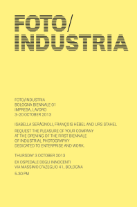 FOTO INDUSTRIA invitation