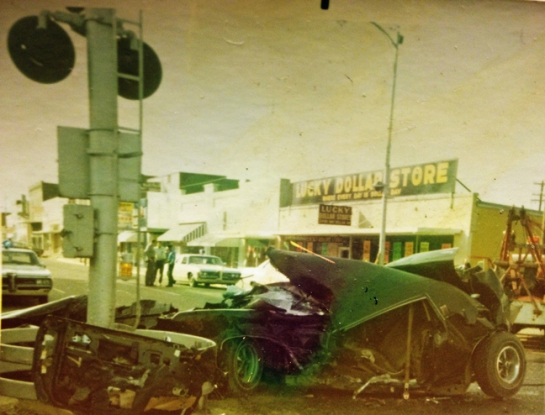 dad's crash