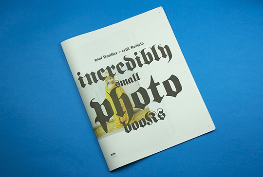 incredibly small photobooks cover