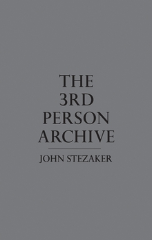 the third person archive cover front