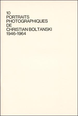 10 portraits photographiques de CB 1946-1964 cover