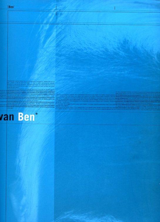 het telefoonboek van Ben cover