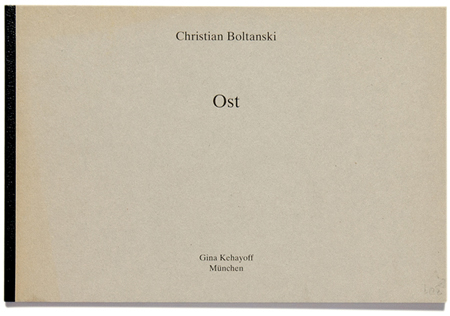 Ost:West Boltanski cover Ost