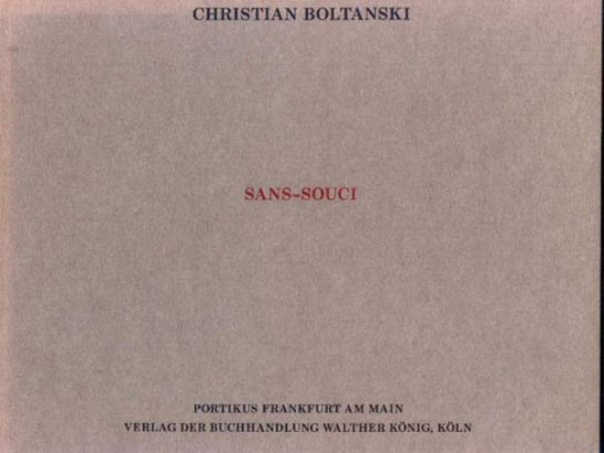 sans souci boltanski cover