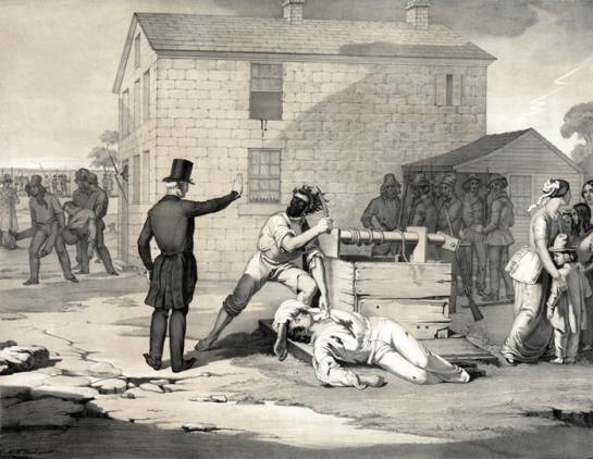 Martyrdom of Joseph and Hiram Smith in Cartage jail June 27th 1844, C.G. Crehen 1851